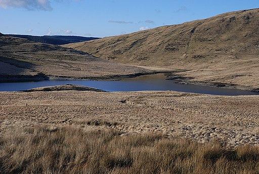 Nant-y-moch reservoir - geograph.org.uk - 1731215