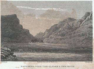 Nantberis with the Glyder & Crib Goch
