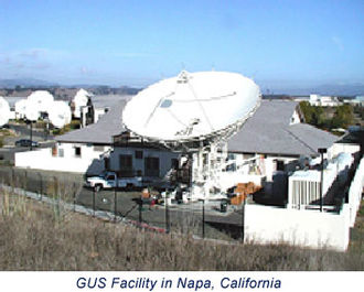 Wide Area Augmentation System - WAAS ground uplink station (GUS) in Napa, California