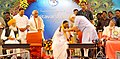 Narendra Modi attends 60th birthday celebrations of Satguru Sri Mata Amritanandamayi in Kerala 2.jpg