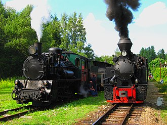 Narrow-gauge railways in the Czech Republic - Image: Narrow gauge jindrichuv hradec
