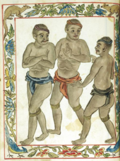 possibly depicting alipin (slaves) in the pre-colonial Philippines