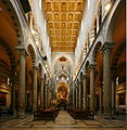 Nave (towards the altar) - Duomo - Pisa 2014 (4).JPG