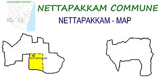 Nettapakkam Commune - Image: Nettapakkam Ward