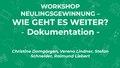 Neulingsgewinnung - Wie geht es weiter? Workshop WikiCon 2019.pdf