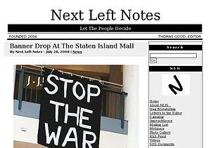 Next Left Notes - Image: Next Left Notes 2008 07 28