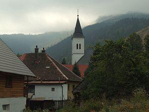 Nižná Boca - Church in village