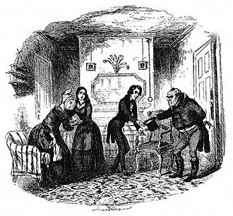 Nicholas Nickleby - Mr Ralph Nickleby's first visit to his poor relations