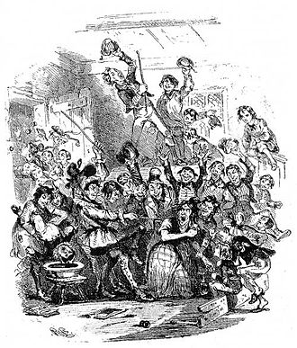 Nicholas Nickleby - The breaking up at Dotheboys Hall