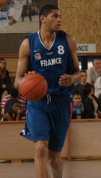 Nicolas Batum - Batum (pictured here in 2007) began his professional career in France.