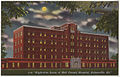 Night-time scene of Hall County Hospital, Gainesville, Ga. (8367049821).jpg