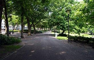 Kronenburgerpark - Image: Nijmegen Kronenburgerpark ingang Kronenburgersingel