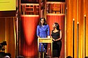 Nima Elbagir and Isha Sesay at the 74th Annual Peabody Awards.jpg