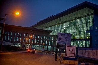Nnamdi Azikiwe International Airport - Image: Nnamdi Azikwe Airport, Abuja