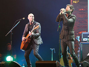 No Sound Without Silence - Lead singer Danny O'Donoghue (right) had given up his role as a coach on The Voice UK to focus on the recording and production of No Sound Without Silence.