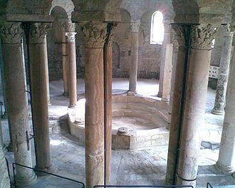 Sacraments of initiation - Early Christian baptistery (6th century, Nocera Superiore, Italy)