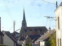 Nogent-le-Bernard et l'église.JPG