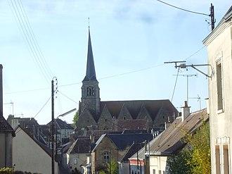 Nogent-le-Bernard - The church of Saint-Jouin-de-Marnes