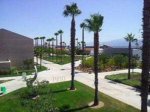 English: A view of the Norco College campus as...