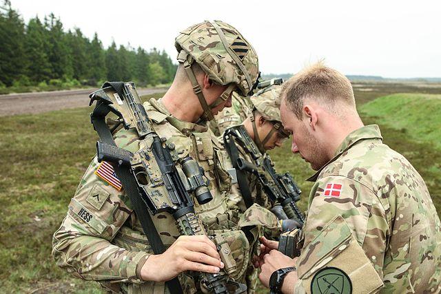 """Датским солдатам """"надоело"""" охранять границу с Германией"""