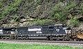 Norfolk Southern Railway - 6791 diesel locomotive (SD60M) (Horseshoe Curve, Pennsylvania, USA) (26957689962).jpg