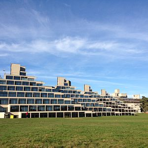 University of East Anglia - Denys Lasdun's Ziggurats accommodation