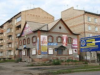 Tayshet Town in Irkutsk Oblast, Russia
