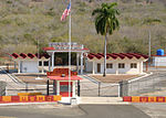 Northeast Gate at US Naval Station Guantanamo Bay in October 2015.JPG