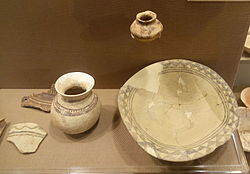Northern Ubaid pottery from Tepe Gawra and other sites - Oriental Institute Museum, University of Chicago - DSC06940.JPG