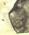 Nové Mohelno na mapě druhého vojenského mapování.png
