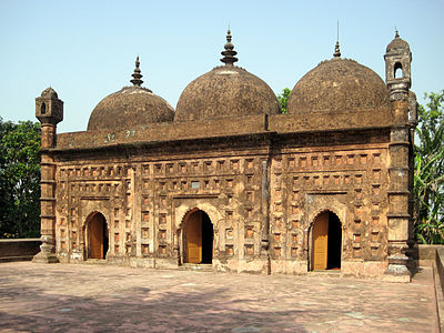 A historical mosque located at Dinajpur, Bangladesh, built on 1793 AD.