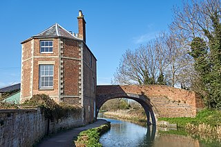 Stroudwater Navigation Canal in England