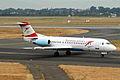 OE-LFH Fokker 70 Austrian arrows 1 DUS 30JUL06 (6885621427).jpg