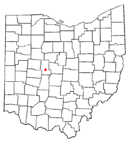 Location in the state of Ohio, United States