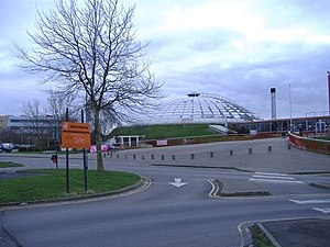 Oasis Leisure Centre - Image: Oasis leisure centre geograph.org.uk 312533