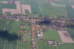 Aerial view in 2012