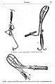 Obstetrical instruments from Witkowski, Histoire...1887 Wellcome L0000519.jpg