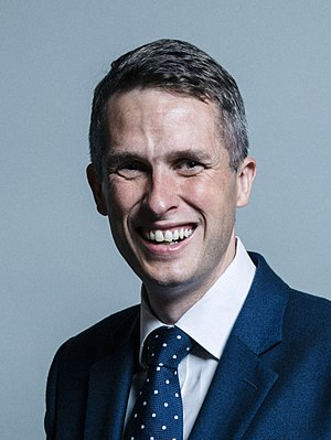 Gavin Williamson - Image: Official portrait of Gavin Williamson crop 2