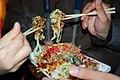 Okonomiyaki by chou i ci at Sumiyoshi Taisha, Osaka.jpg