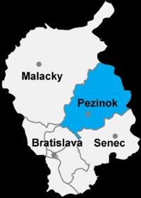 Bildergebnis für Pezinok slowakei karte