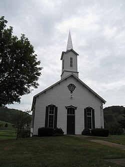 A church in Old Concord