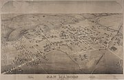 Old map-San Marcos-1881