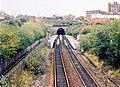 Oldham Werneth railway station in 1988.jpg