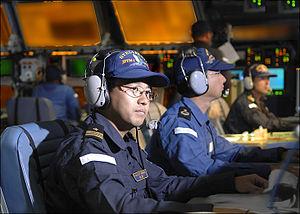 Operations room on board JS Kongō, -6 Dec. 2006 a.jpg