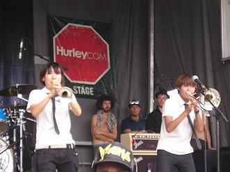 OreSkaBand - Oreskaband performing on Vans Warped Tour in 2008
