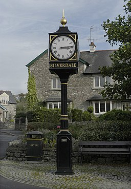 Ornamental Clock, Silverdale - geograph.org.uk - 1005187