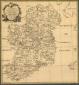 Ortelius Improved, or a new map of Ireland - Wherin are inserted the principal families of Irish and English extraction, who possess'd that kingdon(sic) on the commencement of the seventeenth century LOC 2006626086.tif