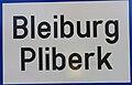 Ortstafel - Bleiburg - Pliberk.jpg