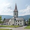 Ossiach 1 Pfarrkirche Mariä Himmelfahrt mit Sakristei SSO-Ansicht 08072015 5674.jpg
