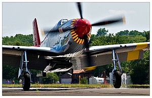 Red Tail Reborn - Image: P 51C 06
